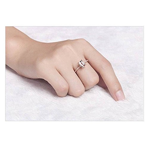 Stacking Matching Personalized Infinity Mothers Ring Engagement Promise Rings for Women by NIKAIRALEY Jewelry (Image #6)