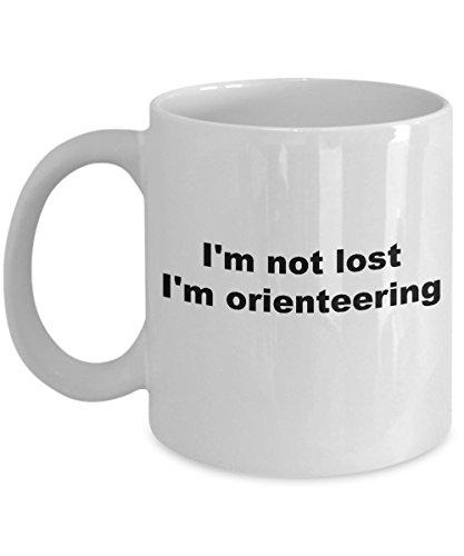Orienteering Mug - I'm not lost I'm Orienteering Coffee Mug Orienteer Navigation Souvenir - Triathlon Europe