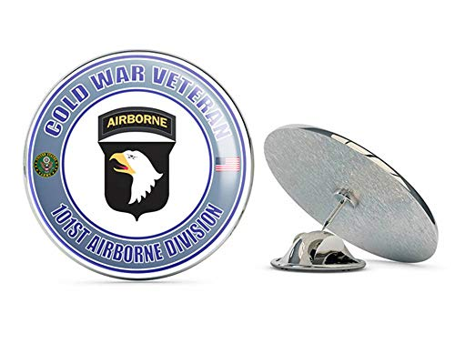 U.S. Army Cold War 101st Airborne Division Veteran Metal 0.75