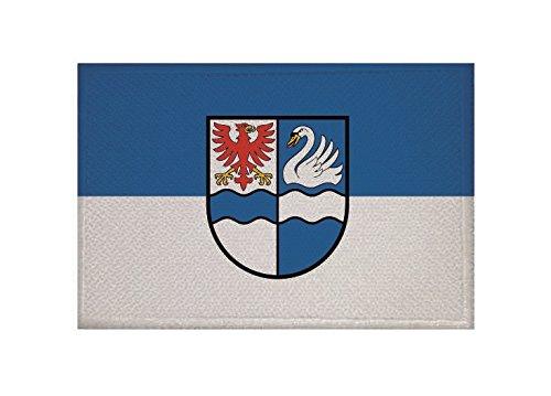 U24 Aufn/äher DDR Fahne Flagge Aufb/ügler Patch 9 x 6 cm