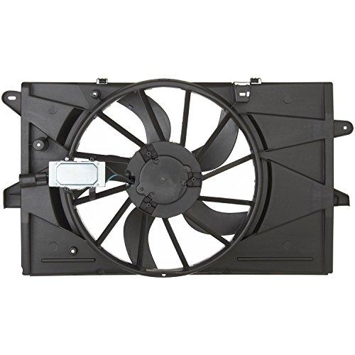 Spectra Premium CF15076 Radiator Fan (Sable Radiator Fan Shroud Assembly)