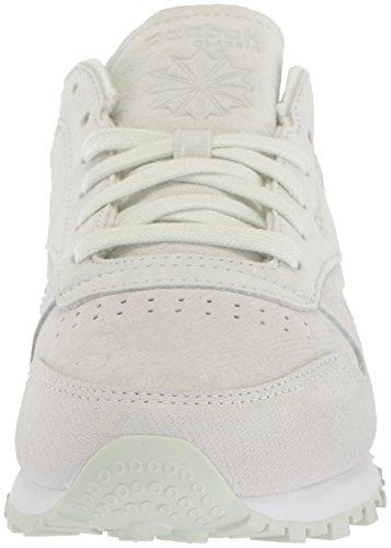 Reebok Womens CL Lthr NBK Sneaker White/Opal znbwc3cC