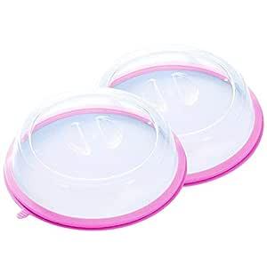 Paquete de 2 platos para microondas con ventilación ...
