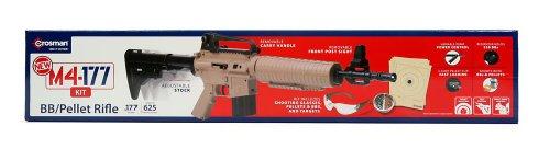Crosman M4-177 Multi-Pump BB and Pellet Air Rifle