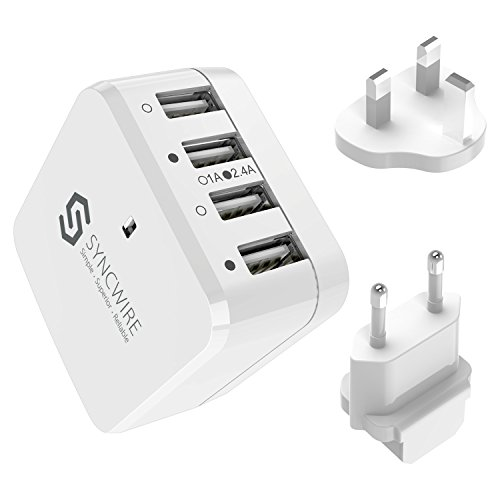 Syncwire 34W 4-Port USB