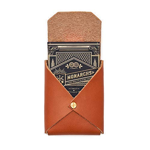 (King Playing Cards and Tan Leather Case | from Son of a Sailor)