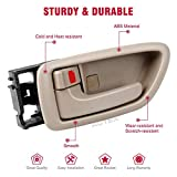 AUTEX Door Handle Interior Front/Rear Left Driver