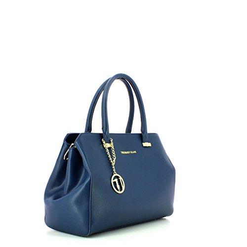 Trussardi 75b491xx53, Borsa a Mano Donna, 37x27x19 cm (W x H x L) Blue