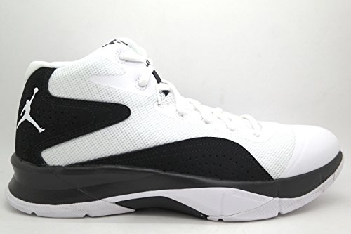 [684835-111] AIR JORDAN COURT VISION 00 MENS SNEAKERS AIR JORDANWHITE/WHITE-BLACKM