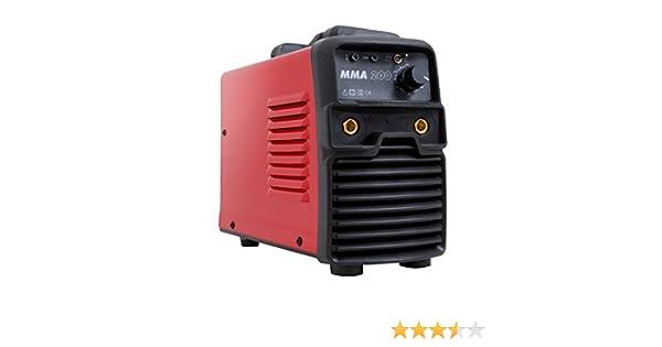 Gala Gar 22300200MMA Soldadura portátil, 230 V, rojo: Amazon.es: Bricolaje y herramientas