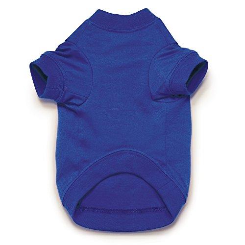 Zack & Zoey Basic Tee Shirt for Dogs, 16'' Medium, Blue by Zack & Zoey (Image #2)