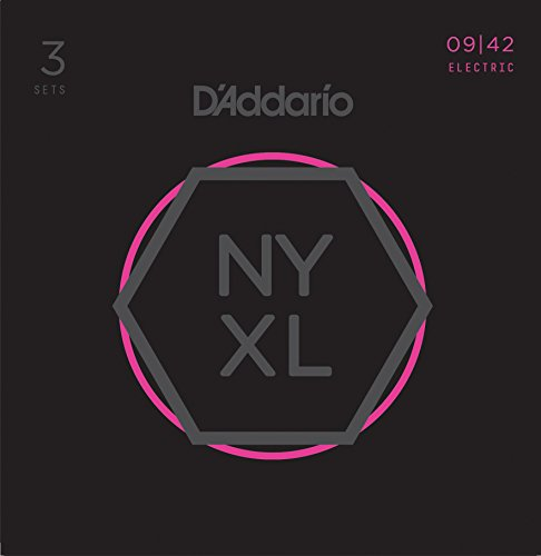 D'Addario NYXL0942 Nickel Plated Electric Guitar Strings, Ex