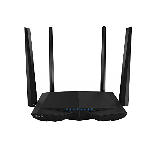 Tenda AC1200 Dual Band WiFi Router, High Speed Wireless Internet Router with Smart App, MU-MIMO for Home (AC6) by...