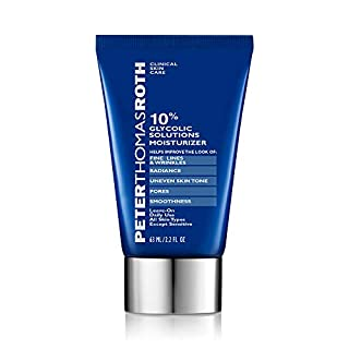 10% Glycolic Solutions Moisturizer, Exoliating Moisturizer with Glycolic Acid, Helps Improve the Look of Fine Lines, Wrinkles, Brightness, Clarity, Uneven Skin Tone, Pores and Smoothness
