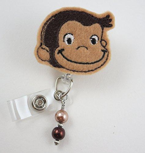 Nurse Badge Reel - Retractable ID Badge Holder - Nurse Badge - Badge Clip - Badge Reels - Pediatric - RN - Name Badge Holder ()
