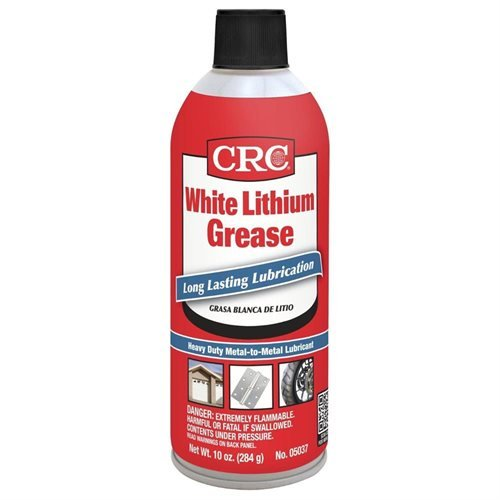 CRC 5037 White Lithium Grease - 10 Wt - Grease Soap Based Lithium