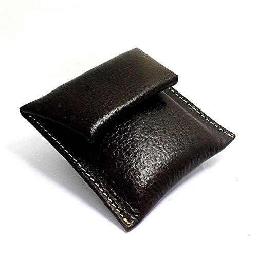 de des et Black hommes femmes mou crédit carte pour monnaie à des de Color et pli titulaire sac en Tan main de de cuir de Petit pièce FfRnxH8q