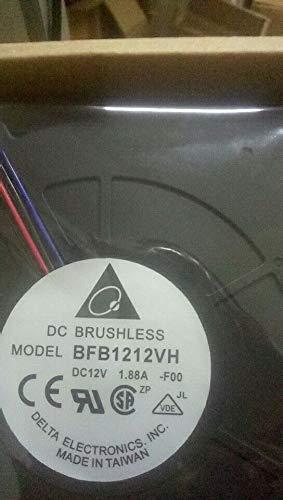 12032 12cm BFB1212VH DC:12V 1.88A Turbo Centrifugal Blower Fan 6 Months Warranty