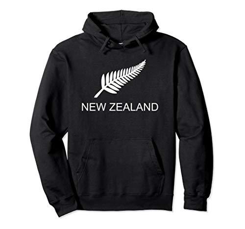 (New Zealand Fern Rugby Sports Fan Pullover)