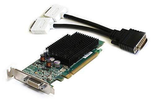 Dell G9184 256MB DDR PCI-E X16 Video Graphics Card ATI Radeon X600 DMS-59 Low Profile with DVI SPLITTER Cable ()
