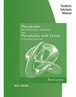 Precalculus real mathematics real people ron larson student study solutions manual for larsonhostetleredwards precalculus real mathematics fandeluxe Images