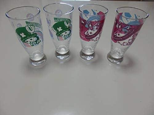 ONE PIECEワンピースチョッパーグッズ一番くじ/グラス/ビアグラス4個セット/まとめてシャボンディ他2種