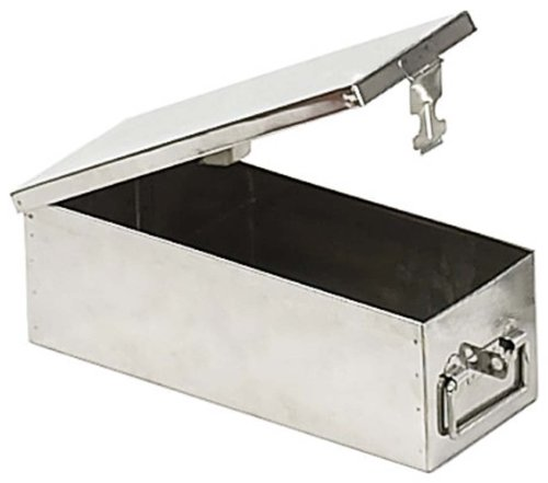 Stainless Steel ''safe Deposit'' Style Box by ToolUSA (Image #1)