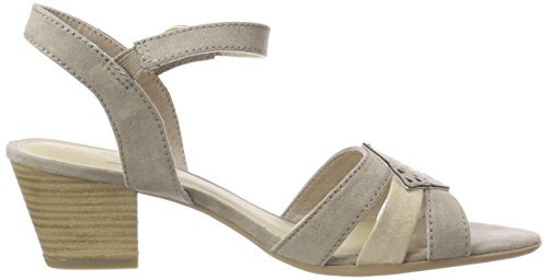 Softline Women's 28361 Sling Back Sandals Beige (Lt. Taupe) 9RBol