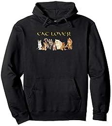 Cat Lovers Pull Over Hoodie