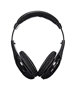 iMeshbean Over Ear Headphones, Wired HiFi Stereo Headset, Heavy Deep Bass, Folding Lightweight, Noise Isolation for iPhone, iPad, Samsung, Laptop
