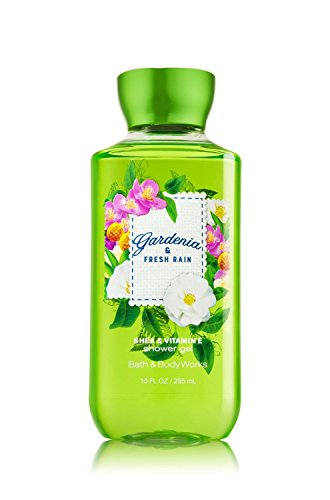 Gardenia Wash Body (Bath & Body Works Shea & Vitamin E Shower Gel Gardenia & Fresh Rain)