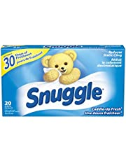 Snuggle Fabric Softener Dryer Sheets, Cuddle-Up Fresh, 20 Uses, 20 Count