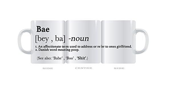 Taza divertida Urban diccionario Bae, Babe definición 11 oz taza: Amazon.es: Hogar