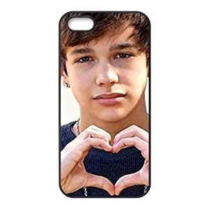 Custom Pop Rocker Star Austin Mahone Collage Hard Plastic Case For iPhone 5 and iphone 5s