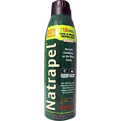 Natrapel 8 Hour Insect Repellent Spray 6 oz (Pack of 4)