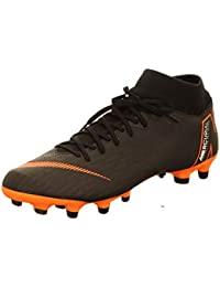 a07bf8a3a504 Mercurial Superfly 6 Academy MG (Black/Total Orange) (Men's 12.5/Women's