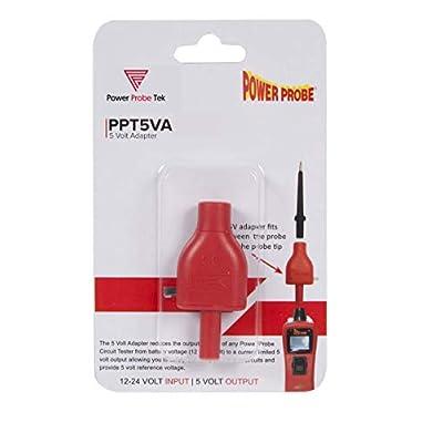Power Probe PPT5VA RED Adapter(5v): Automotive