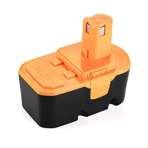 Energup 18V 3.0Ah Replacement Battery for Ryobi One Plus P100 P101 Ryobi 18V Cordless Power Tools