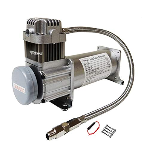 Viking Horns FBA103C Heavy-Duty 200 PSI Air Compressor for Train Horns