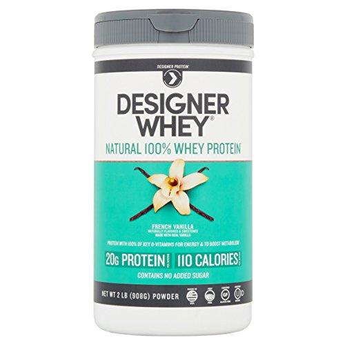 Designer Whey 100 Premium Protein, French Vanilla 2 lb