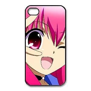iPhone 4 4s Cell Phone Case Black Angel Beats Nakamura Yuri Custom ASI8719978