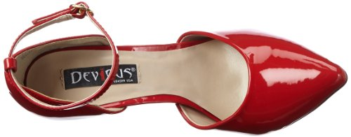 Pleaser Devious Womens Sexy-21 Slippers Red Patent sale genuine cheap sale marketable lowest price cheap online OpNsDzYVr