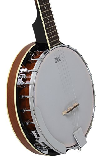 Large Product Image of 5-String Banjo 24 Bracket with Closed Solid Back and Geared 5th Tuner By Jameson Guitars