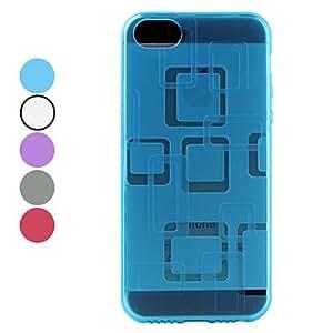 JJE sold out Lattice Design Soft Case for iPhone 5/5S (Assorted Colors) , Purple
