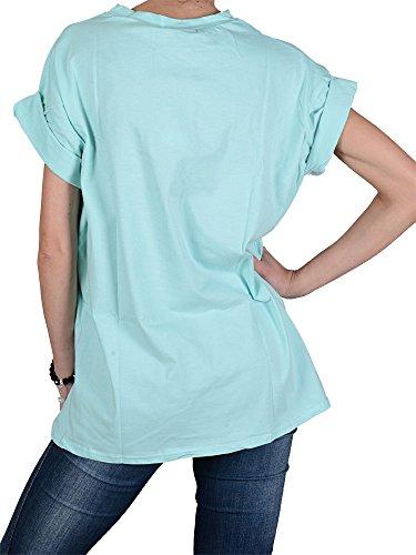 Missguided - Damen Shirt-mint-40