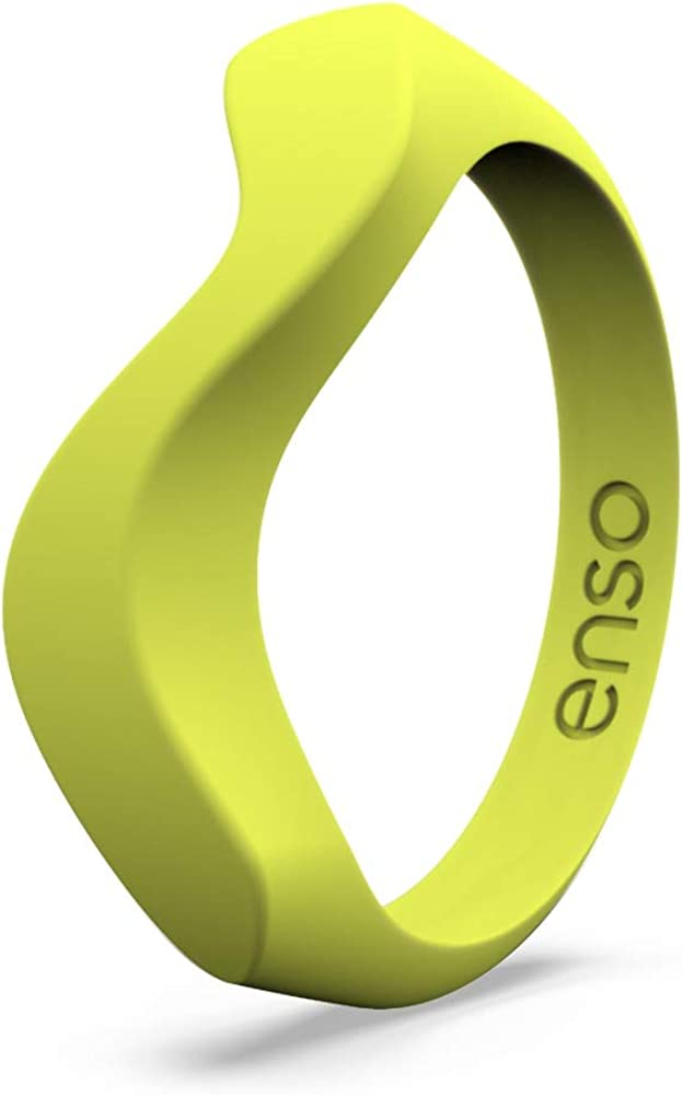 Lifetime Quality Guarantee and Safe Enso Rings Wave Accent Silicone Ring Comfortable The Premium Fashion Forward Silicone Ring Stackable Silicone Breathable