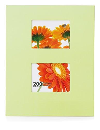 Kiera Grace PH43568-2 Photo Album, 4'' x 6'', Celery by Kiera Grace