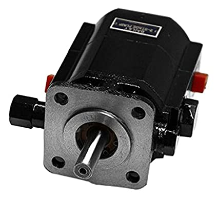 CHIEF Two-Stage Pump: 11 GPM, 4000 Max RPM, 3000 Max PSI With HP Input: 6,  1' Tube Inlet and 1/2
