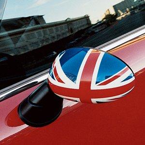 MINI Cooper Genuine Factory OEM 51140305199 Union Jack Right Side Mirror Cap 2002-2006