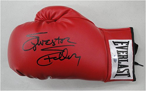 Sylvester Stallone Signed Autographed Red Everlast Boxing Rocky Glove OA - Boxing Everlast Glove Red